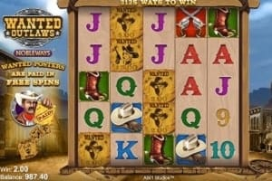 wanted outlaws demo slot game